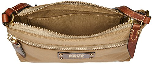 Ivy Crossbody Handbag Tan Zip Nylon FRYE UdwO7x7