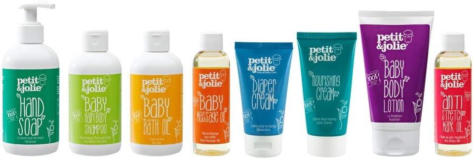Petit/&Jolie Konjac Sponge for Babies and Kids with Sensitive Skin and Eczema 1pc