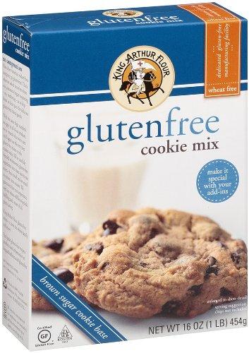 King Arthur Flour Cookie Mix, Gluten Free, 16 Ounce (Pack of (Fat Free Vanilla Cookies)