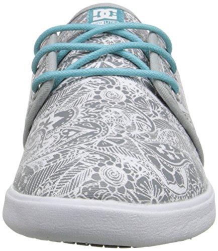 DC Women's Haven SP Skate Shoe, White, 5 B US