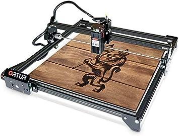 ORTUR Laser Master 2 32 Bits Carte m/ère Machine de Gravure Laser 400 x 430mm Grande Surface de Gravure Rapide Vitesse de Haute pr/écision Laser Engraver Size : 7W