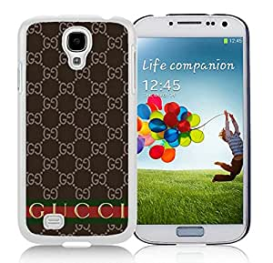 New Antiskid Designed Cover Case For Samsung Galaxy S4 I9500 i337 M919 i545 r970 l720 With Gucci 35 White Phone Case