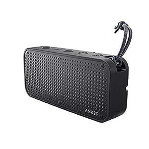 Anker SoundCore Sport XL al aire última intervensión altavoz Bluetooth portátil–16W de salida y 2Subwoofers, IP67impermeable a prueba de golpes, 66ft Rango de Bluetooth, 15h de reproducción, micrófono integrado, puerto de carga USB