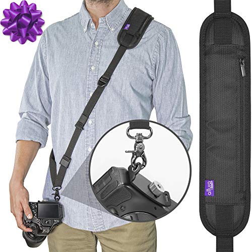 Altura Photo Rapid Fire Camera Neck Strap w/Quick Release and Safety Tether (Camera L830 Nikon Strap)