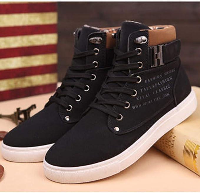 Moonuy Vintage Shoes Bottines Hommes Automne Lacets Bottes Cuir Souple R/étro Chaussure de Travail Moto Botte Hommes Rivet Boot Bottes Vintage Cheville Hiver Boot Punk Rock Bottines