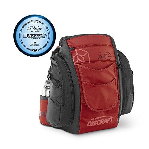 Discraft Nate Doss Signature Disc Golf Bag with Bonus Tour Series Disc by Discraft