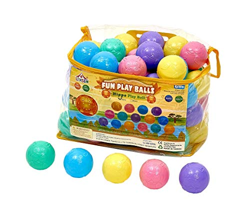 - Lihsen Soft Plastic Play Balls (50PCS 2.75