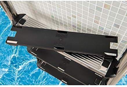BEHQ Cubre peldaños plástico conversor Antideslizante Universal escaleras de Piscinas. Ud.: Amazon.es: Jardín