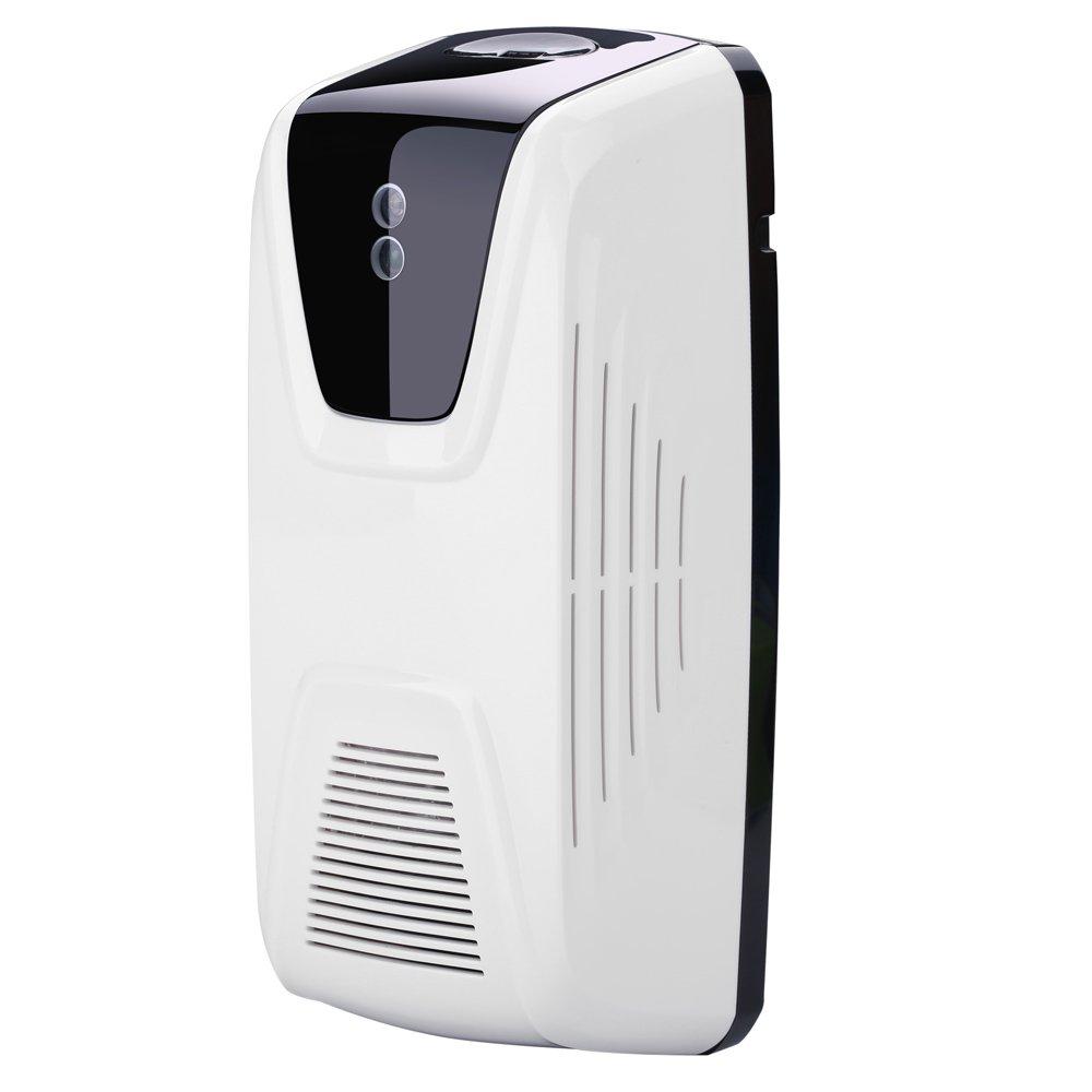 Anself Air Freshener Dispenser Automatic Light Sensor Use Oil or Perfume Refillable Aerosol Dispenser
