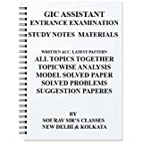 GIC ASSISTANT MANAGER EXAM [ PACK OF 4 BOOKS ] (GENERAL INSURANCE CORPORATION) STUDY MATERIAL FOR 2018-2019 ENTRANCE COMPLETE WITH MODEL SAMPLE PAPERS + PAST YEAR PAPERS ANALYSIS SOLVED +QUANTITATIVE APTITUDE LOGICAL REASONING+GENERAL AWARENESS + INTELLIGENCE+ NOTES+ ENTRANCE TEST + MCQ PROBLEMS + MODEL PAPERS