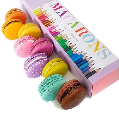 Macaron cookies Back to school gourmet gift by LeilaLove,Inc