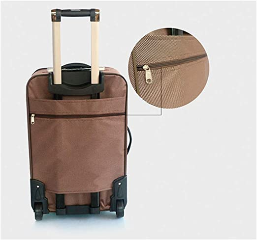 20 Inches Latest Style Travel Case Shengshihuizhong Trolley Case Travel Organizer Color : Red, Size : 20 Handbag Simple Style Soft Bag