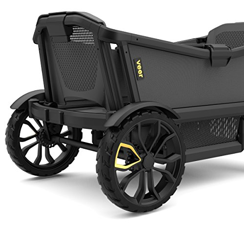 Veer Cruiser with Retractable Canopy | Next Generation Premium Stroller Wagon Hybrid by Veer (Image #2)