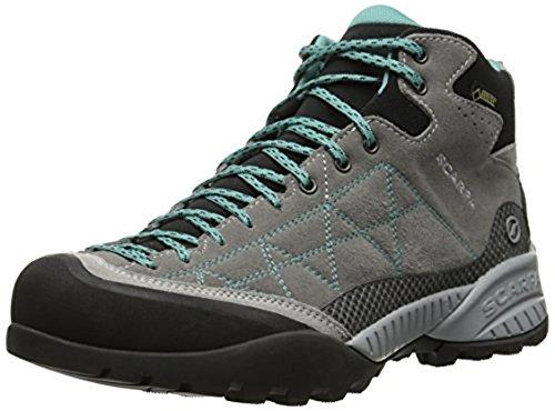 Scarpa Da Donna Zen Pro Mid Gtx Scarpe Da Trekking E Guanto E-tip Fascio Medio Grigio / Laguna