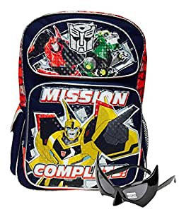 Transformers Bumblebee Backpack and One Bonus Gift