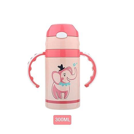 Qianren Taza Térmica Termo Botella para Niños Acero ...