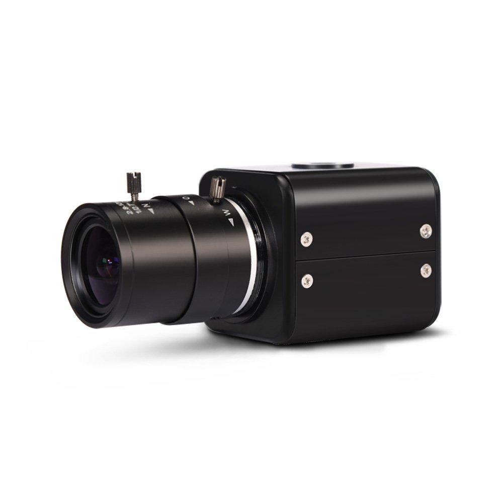 HD 2 MP 1080P HD Digital Security Camera OSD Menu 864817 MOKOSE HDMI Camera Industry Digital C-Mount Camera with 2.8-12mm Varifocal HD Lens