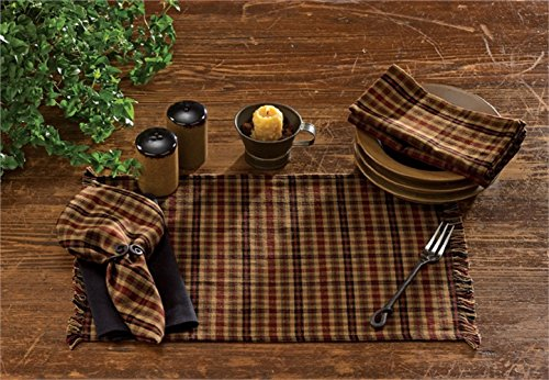 Park Designs 19 Inches x 13 Inches Primitive Spice Table Placemat Kitchenware