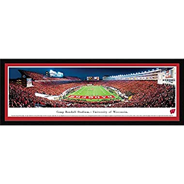 Wisconsin Badger Football - End Zone View at Camp Randall Stadium - Blakeway Panoramas Print
