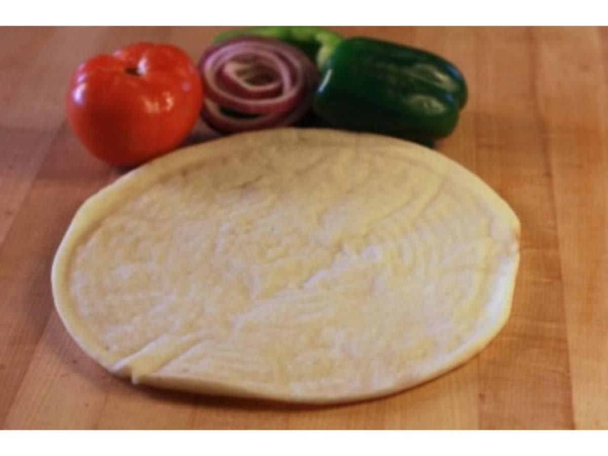 Venice Baking Gluten Free Vegan Plain with Honey Pizza Crust, 12 inch -- 20 per case. by VENICE BAKERY