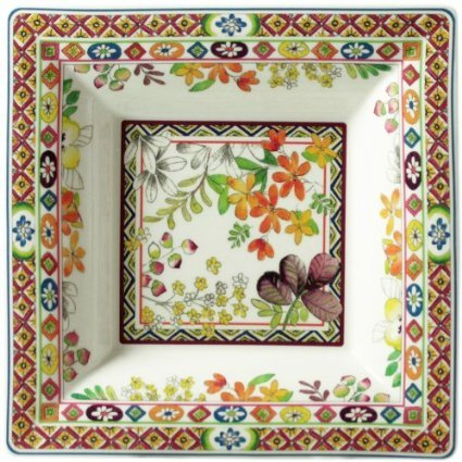 GIEN BAGATELLE Large square candy tray