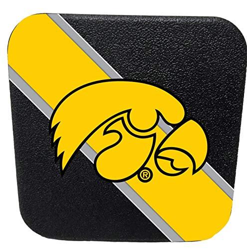 Iowa Hawkeyes Rigid Rubber Plastic Hitch Cover Plug Trailer Auto University of