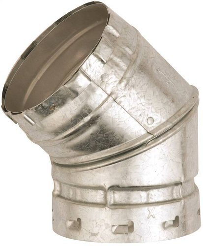 (Elbow Gas Vent 45 Dgr 2wal 5in)