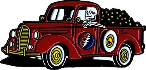 (Skeleton Driving Truck - Lightning Bolt - Enamel)