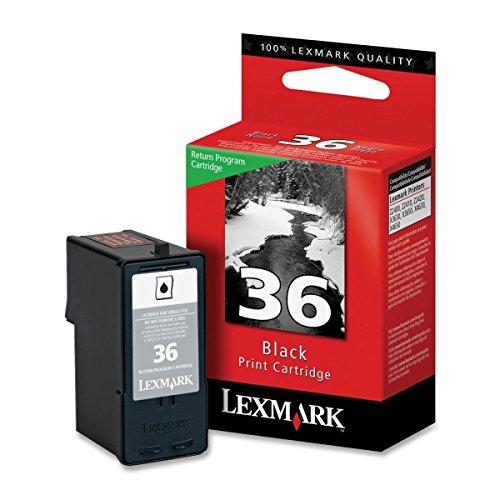 Discount 18C2130 Lexmark No.36 Black Ink Cartridge - Black - Inkjet - 175 Page - 1 Each supplier