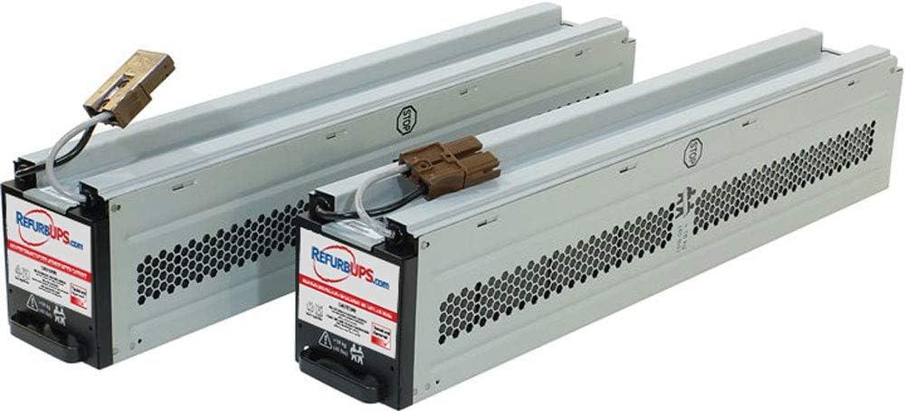 APC Smart-UPS 2200 Rack Mount SUA2200RM2U RBC43 Compatible Replacement Battery Cartridge Hot-Swap PowerSwap Solution