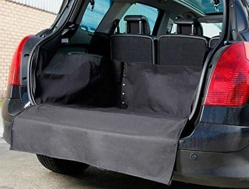 tech automotive Fiat 500L MPW 13-on Resistente Duradero Resistente al Agua para el Maletero del Coche Tronco Maletero y Labios Pantalla S