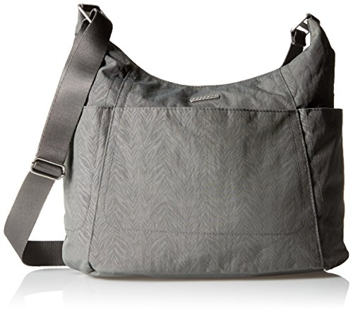 01dcdd9321 Amazon.com  Baggallini Hobo Tote Pewter Zebra  Clothing