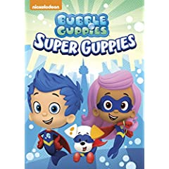 Bubble Guppies: Super Guppies will be available on DVD May 16 from Nickelodeon