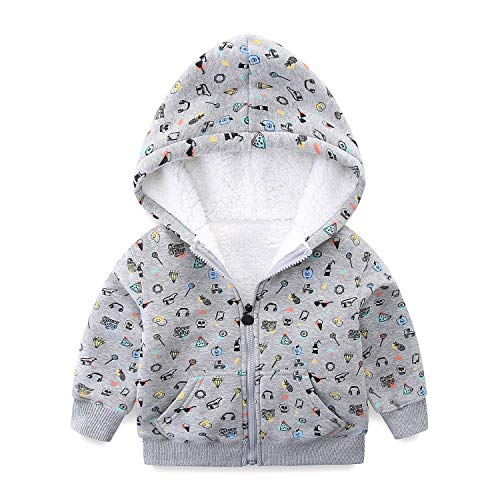 8b0784f4afea Mud Kingdom Baby Girls Winter Hoodies Faux Fur Girls Hooded Jackets ...
