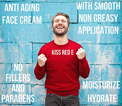 51wfWlbr wL - Anti Aging Face Cream. Best Anti Wrinkle Cream Moisturizer For Face, Hands, Neck. Reduce Wrinkles, Fine Lines, Crows Feet, Puffy Eyes.