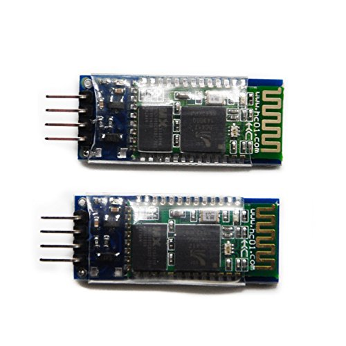 - HYY 2Pcs HC-06 Bluetooth Serial Pass-Through Module Wireless Serial Communication Compatible With Arduino