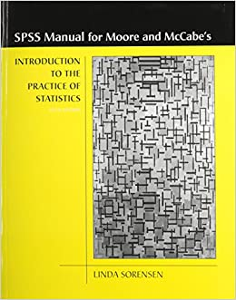 Book Introduction to the Practice of Statistics SPSS Manual
