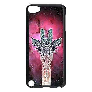 Universe Giraffe Animal Hardshell Cover Case for iPod Touch 5, 5G (5th Generation)