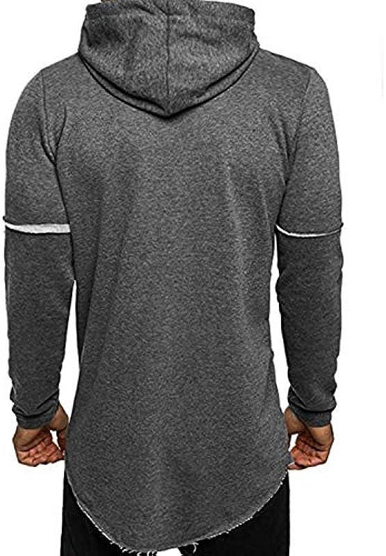 Moda męska sweter wiosna jesień casual sweter z kapturem elegancki wygodny rozmiar moda bluza z długim rękawem bluza z kapturem sukienka: Odzież