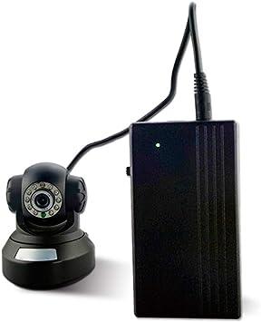 BIlinli 12V2A 22.2W UPS Fuente de alimentación de Reserva ininterrumpida Mini batería para Sistema de Seguridad de enrutador de cámara: Amazon.es: Hogar