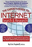 Expert's Guide to Internet Search and Research, Eric Popkoff, 1561718246
