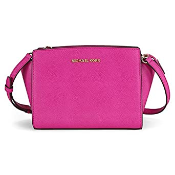 Image Unavailable. Image not available for. Color  MICHAEL Michael Kors  Women s Selma Medium Messenger Bag, Fuschia, One Size f2616bf576