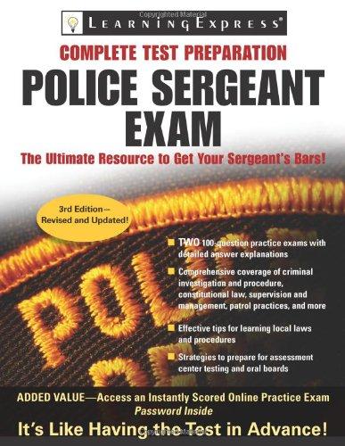 Police Sergeant Exam (Police Sergeant Exam (Learning Express))