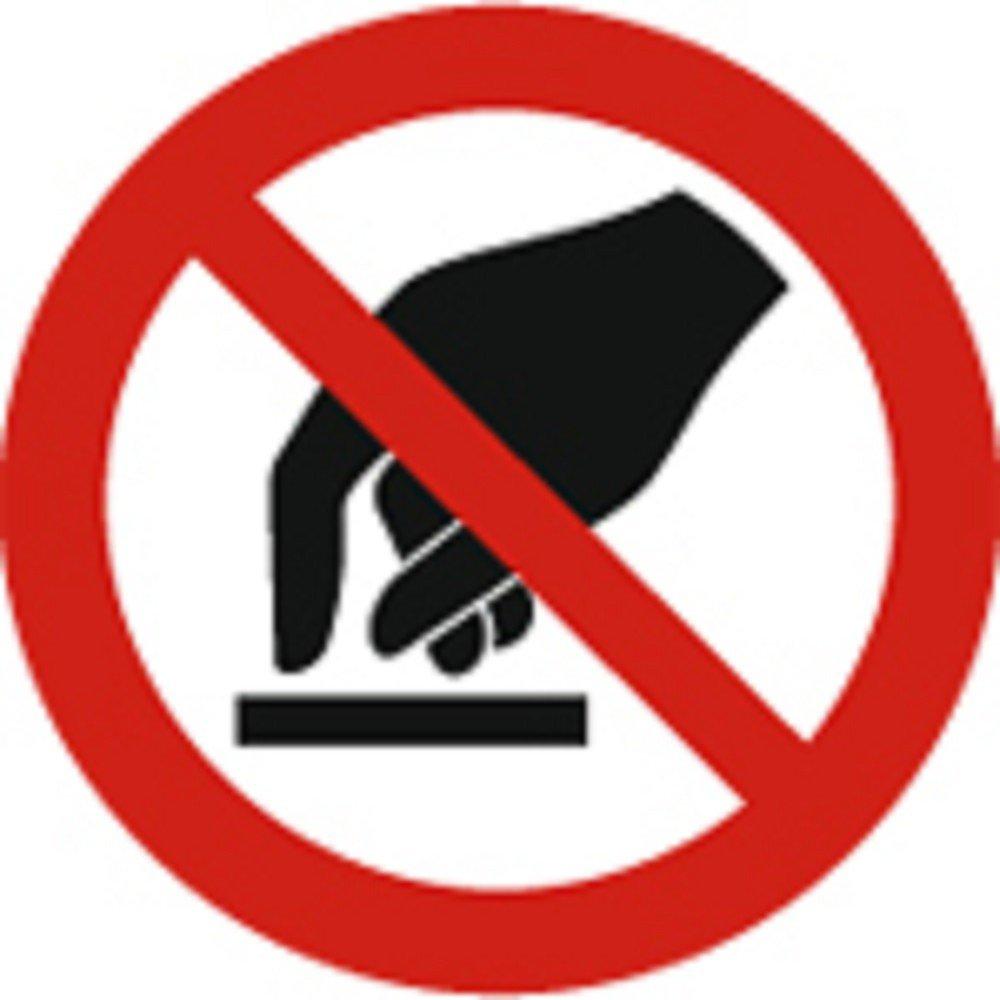 Cartel prohibición de caracteres según ISO 7010 - Prohibido ...