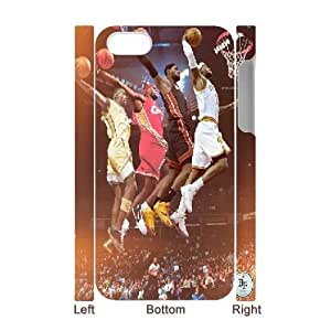 DIY iPhone 4,4S Case, Custom iPhone 4,4S 3D Cover - LeBron James