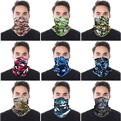 5pcs UV Headwear versátil al aire última intervensión Pañuelo para la cabeza, el cuello máscara de polainas, la pesca,...