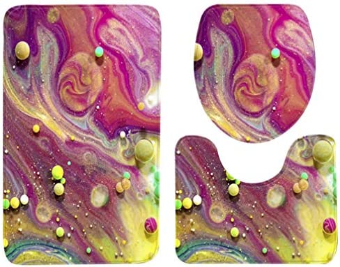 [해외]TOPBATHY 3 Pieces Bathroom Rug SetsPedestal Mat Non Slip Bath Mat Toilet Lid Cover Toilet Rug Sets (50x80cm) / TOPBATHY 3 Pieces Bathroom Rug SetsPedestal Mat Non Slip Bath Mat Toilet Lid Cover Toilet Rug Sets (50x80cm)