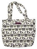 Bungalow360 Vegan Cotton Canvas Pocket Tote Bag Cat