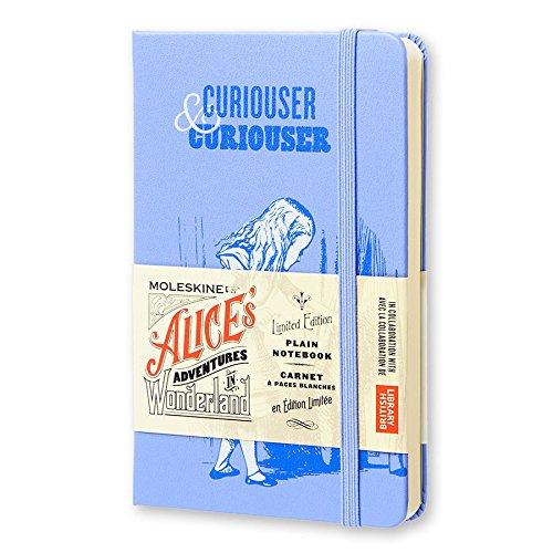 Moleskine Limited Edition Alice in Wonderland Notebook, Hard Cover, Pocket (3.5