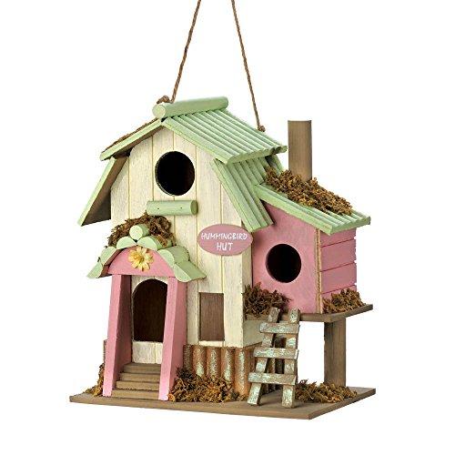 VERDUGO GIFT CO Birdhouse, Hummingbird Hut (Hummingbird Bird House compare prices)